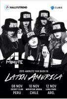 「4Minute」 南米3カ国で来月ファンミの画像