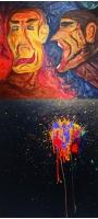 「SEVENTEEN」ミンギュ&THE8、デビュー3周年記念展示会で絵の作品を公開!の画像
