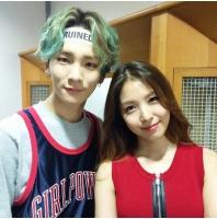 「SHINee」キー、BoAと仲睦まじいツーショット!の画像