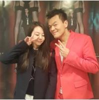JYP代表パク・チニョン&ソヒ(元Wonder Girls)の2ショットが話題の画像