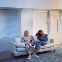 ヒョナ&DAWNカップル、甘いチュー連発の動画を公開…撮影現場でも遠慮のないスキンシップの画像