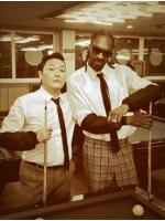 PSY、ヒップホップスターのSnoop Doggと新曲MV撮影の画像