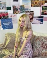 """「GFRIEND」ウナ、""""金髪のタトゥーガール""""に変身=完璧なハロウィンモードの画像"""