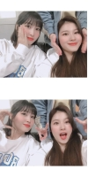 「TWICE」モモ&サナ、JYP入社9周年「お疲れ様、これからも一緒に」の画像