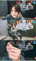 JIMIN(BTS)、誕生日のライブ放送「家族の大切さを感じ幸せだった」、J-HOPEとJUNG KOOKも登場の画像