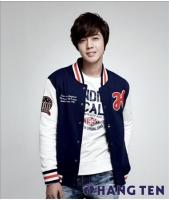 「SS501」リーダーのキム・ヒョンジュン 「HANG TEN」の新モデルにの画像