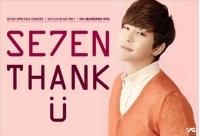 SE7EN、デビュー10周年コンサート「THANK U」を開催の画像