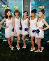 <Wonder Girls> 米レッドカーペット歩く「緊張したがとても光栄」の画像