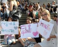 「4Minute」 スウェーデンで1千人のファンを前に初のK-POP公演の画像