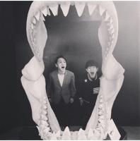 """「SHINee」Key&オンユ、いたずらっ子たちの""""誰の口が大きいか""""の画像"""