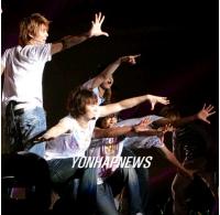 SS501 大阪で初の単独コンサートを開催の画像