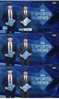 """""""万能エンターテイナー""""イ・スンギ、「SBS 8 ニュース」スポーツコーナーにサプライズ出演の画像"""