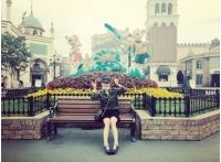 BoA、遊園地での写真を公開の画像