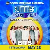 「BTS(防弾少年団)」、米ABC「グッドモーニングアメリカ・サマーコンサート」のトップバッターとして出演が決定の画像