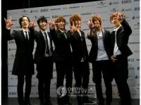 6人組グループ<超新星>日本でメジャーデビューの画像
